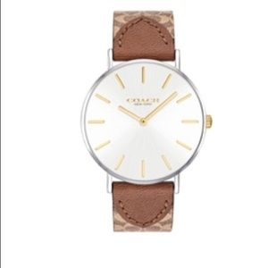Coach Perry leather watch